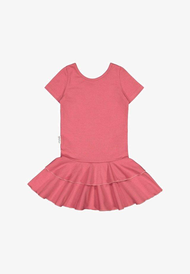 T-SHIRT DRESS FRILLA - Day dress - cherry bomb