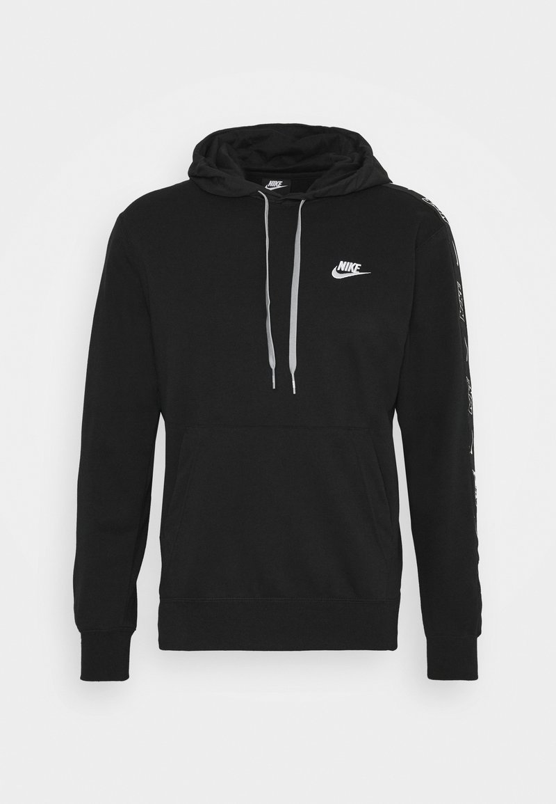 Nike Sportswear - Hoodie - black/particle grey/white