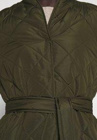 Bruuns Bazaar - AZAMI LINETTE COAT  - Winter coat - green night - 5