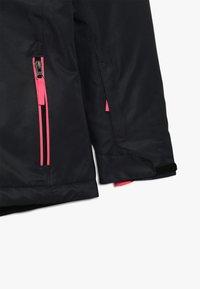 CMP - GIRL SNAPS HOOD - Ski jacket - antracite - 3