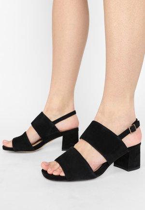 SHEER SLING - Sandalen - black