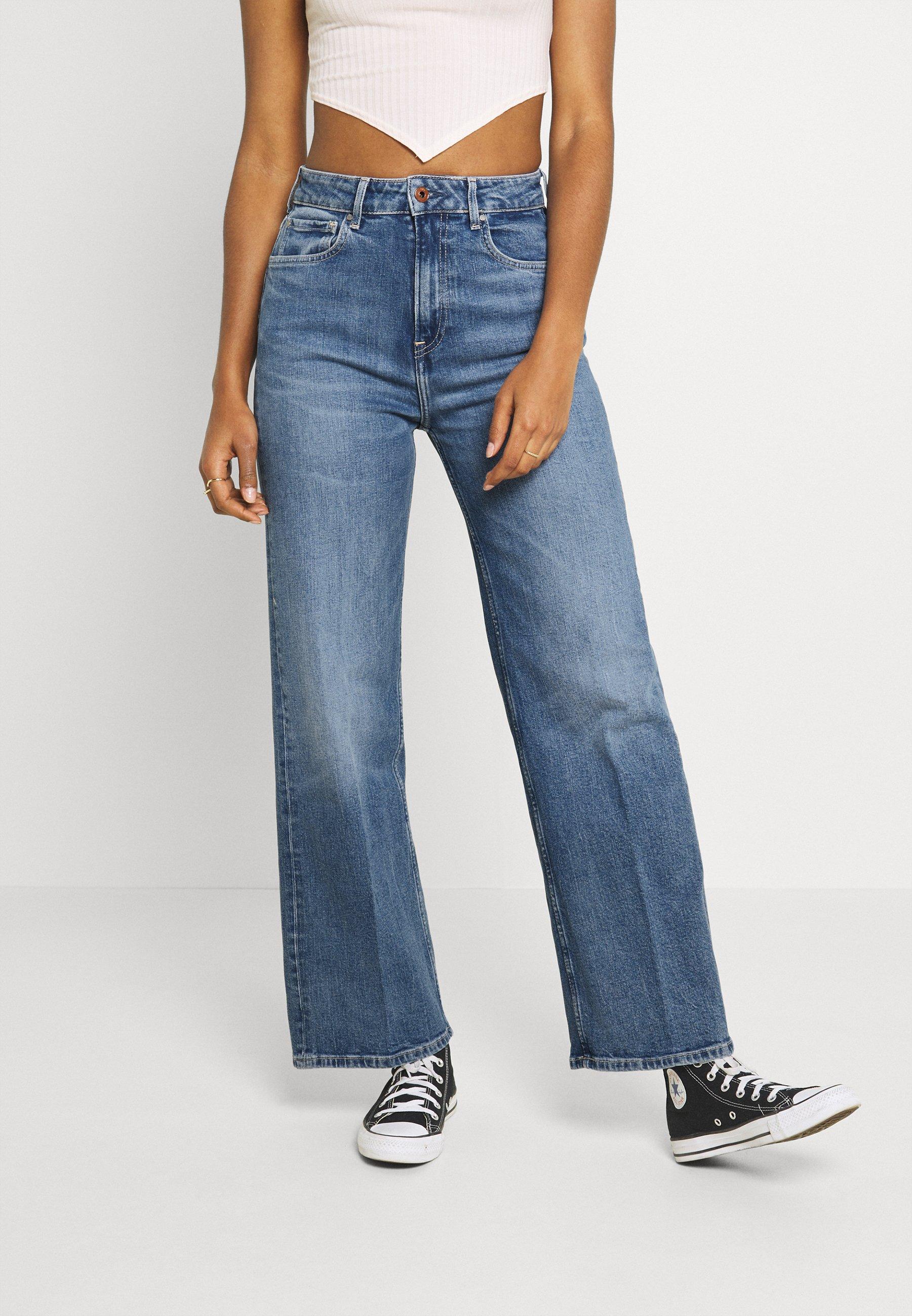 Women LEXA SKY HIGH - Straight leg jeans