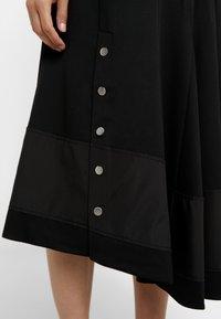 3.1 Phillip Lim - FLARE SKIRT DRESS - Vestito estivo - black - 3