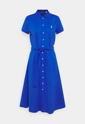 STRETCH - Day dress - new iris blue