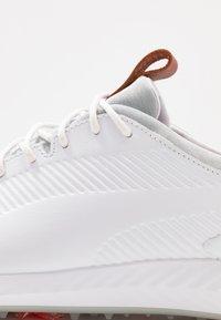 Puma Golf - IGNITE PWRADAPT 2.0 - Golfové boty - white - 5