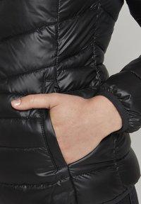 TOM TAILOR DENIM - LIGHT PADDED JACKET - Light jacket - deep black - 4