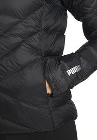 Puma - PWRWARM PACKLITE JACKET - Down jacket - black - 5