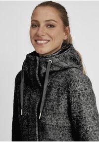 Oxmo - RIEKE - Short coat - dark grey melange - 3