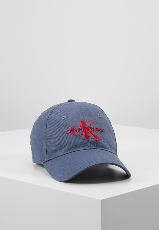 MONOGRAM WITH EMBROIDERY - Caps - blue