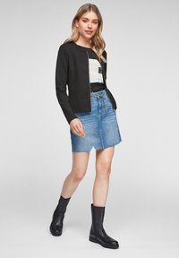 QS by s.Oliver - Cardigan - black - 3
