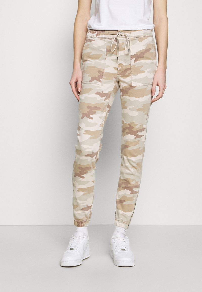 American Eagle - HIRISE JEGGING JOGGER - Trousers - beige