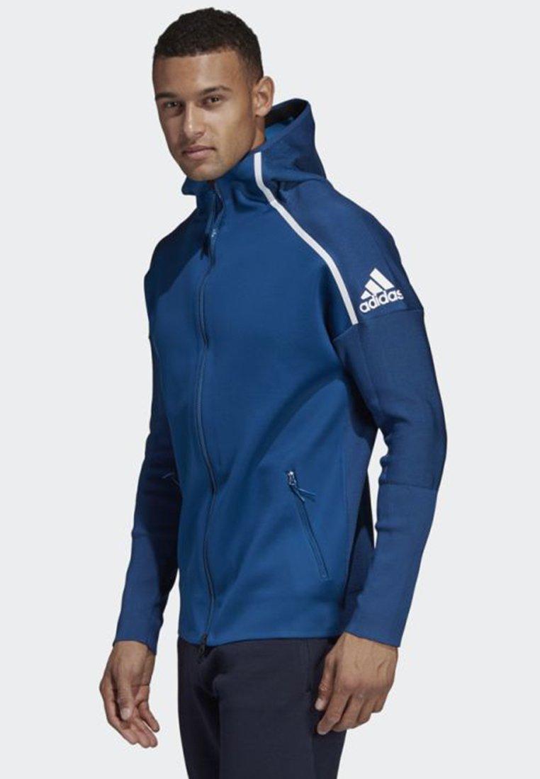 ADIDAS Z.N.E. PRIMEKNIT HOODIE Træningsjakker blue
