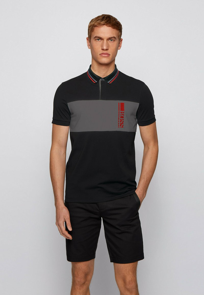 BOSS - PAVEL - Polo shirt - black