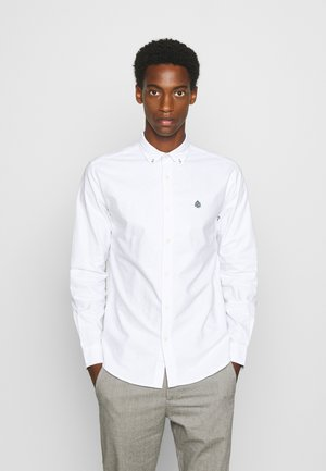 SOLID OXFORD - Shirt - white