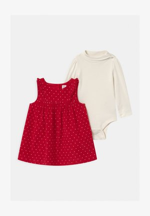 DOT SET - Longsleeve - modern red