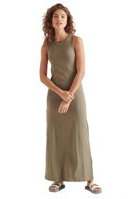 Superdry - Maxi dress - moss khaki - 0