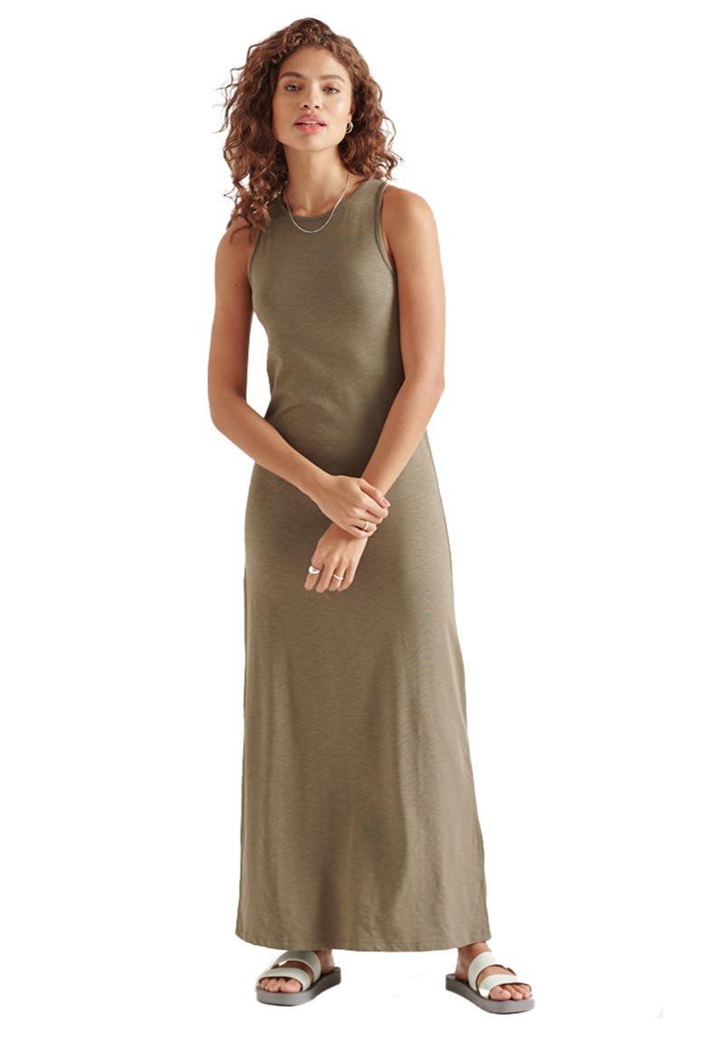 Superdry - Maxi dress - moss khaki