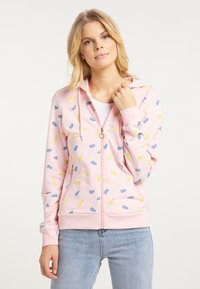 myMo - Zip-up hoodie - hellrosa - 0