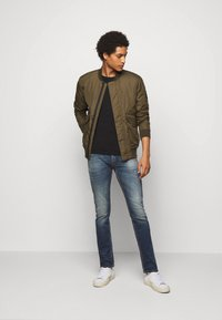 7 for all mankind - RONNIE CAVALRY  - Slim fit jeans - dark blue - 1
