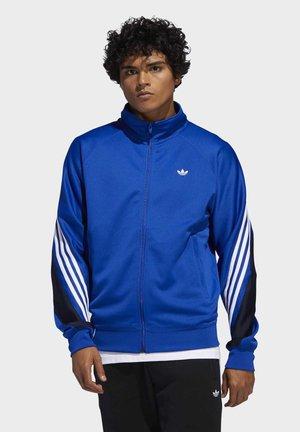 3-STRIPES WRAP TRACK TOP - Training jacket - blue