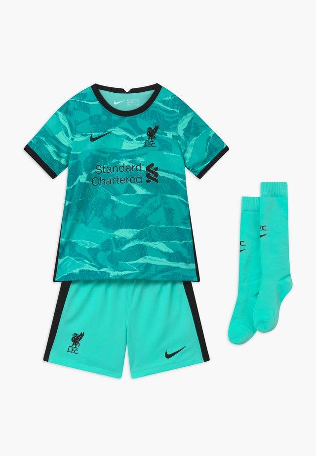 LIVERPOOL FC SET - Sports shorts - hyper turquoise/black