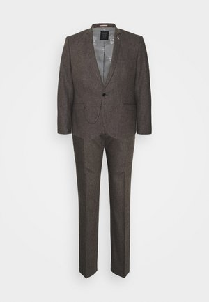 NEWTOWN SUIT PLUS - Costume - brown