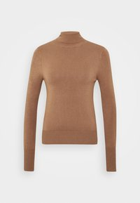 ONLY - ONLVENICE ROLLNECK - Svetr - toasted coconut - 4