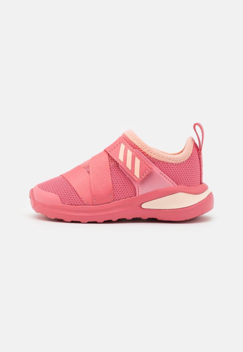 adidas Performance - FORTARUN X UNISEX - Neutral running shoes - glow pink/hazy rose/footwear white