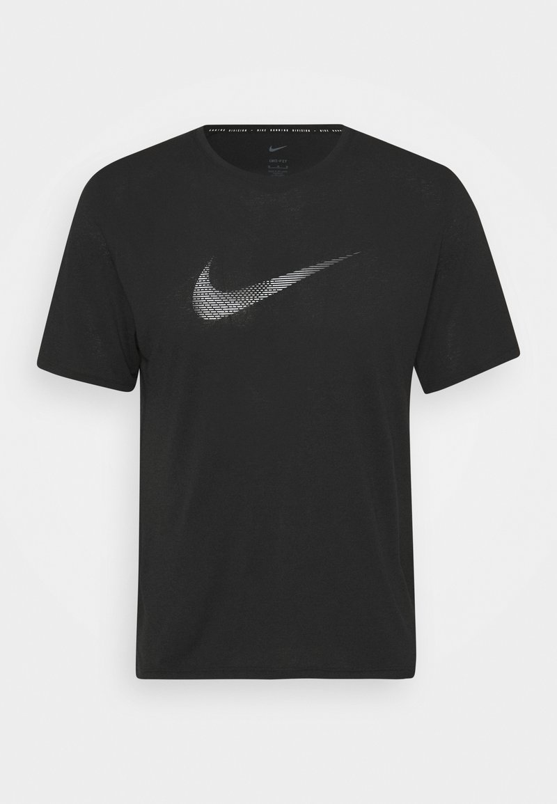 Nike Performance - RUN MILER - Printtipaita - black