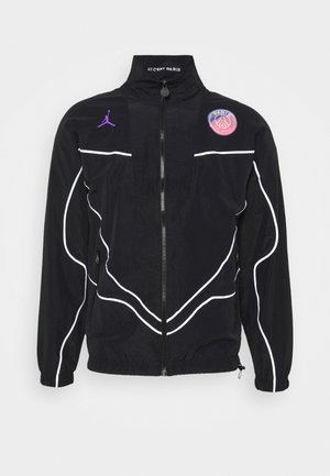 JORDAN PARIS ST GERMAIN ANTHEM - Club wear - black/hyper pink/psychic purple