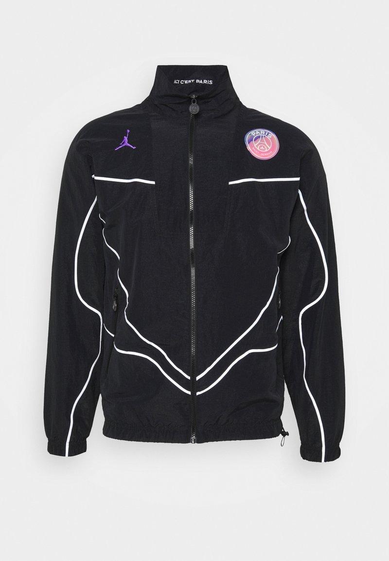 Nike Performance - JORDAN PARIS ST GERMAIN ANTHEM - Club wear - black/hyper pink/psychic purple