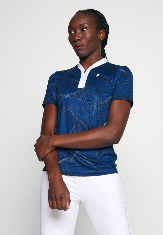 TURF ZIP - Polo - pattern