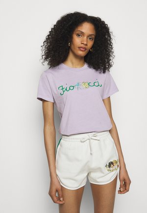 DANCING BUGS TEE FOXGLOVE - Print T-shirt - lilac