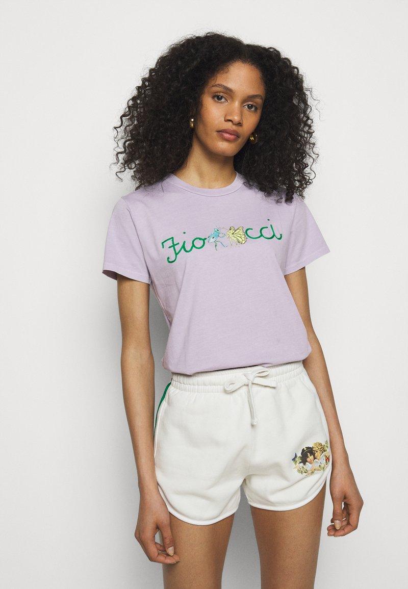 Fiorucci - DANCING BUGS TEE FOXGLOVE - Print T-shirt - lilac