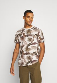 Scotch & Soda - CREW NECK TEE WITH SEASONAL ALL OVER PRINT - Print T-shirt - combo - 0