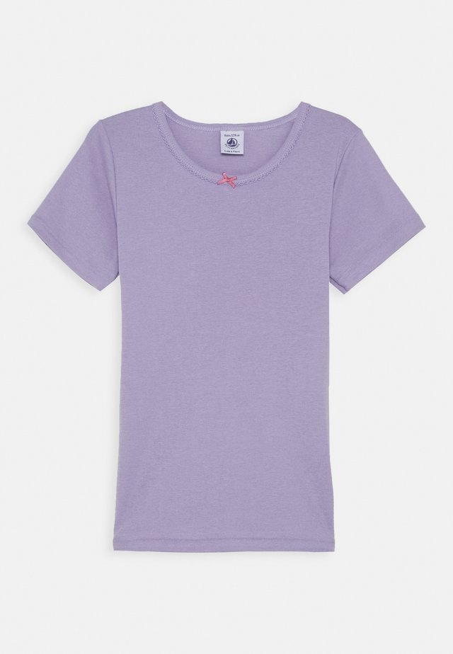 Camiseta básica - purple