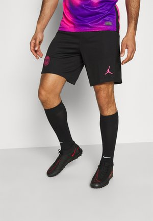 PARIS ST GERMAIN STADIUM SHORT - Korte broeken - black/hyper pink
