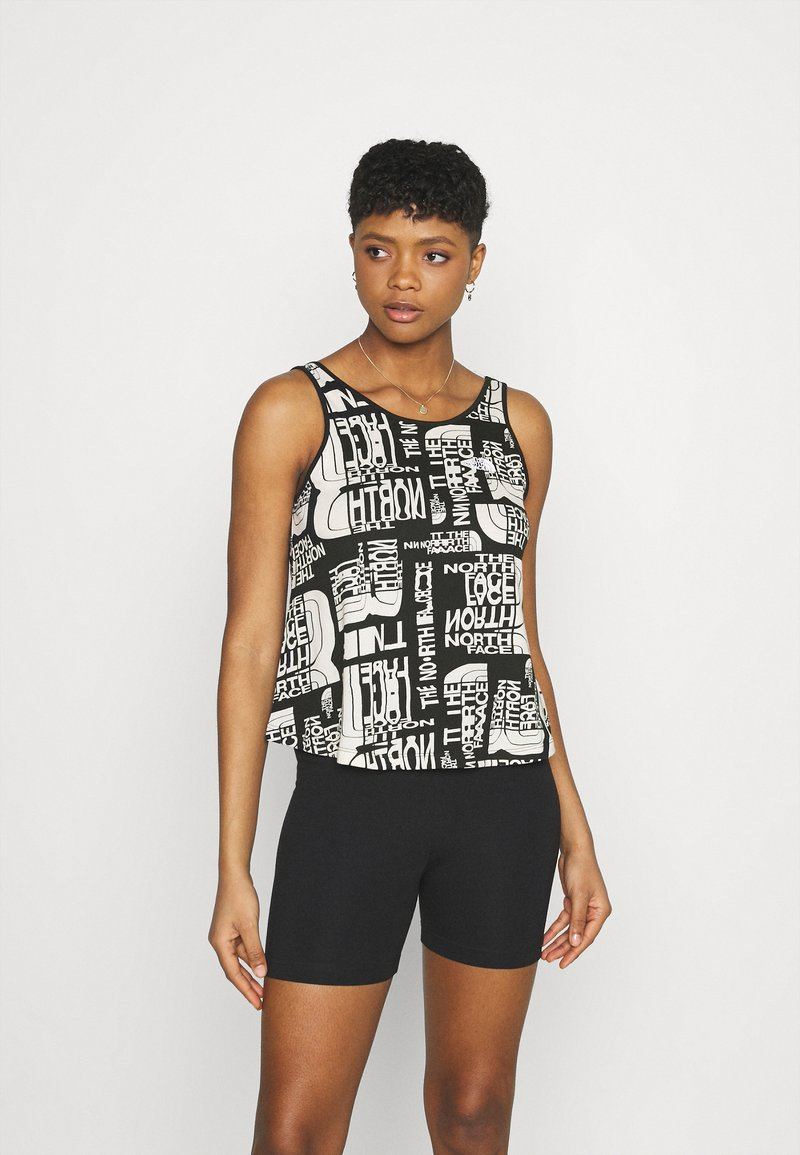 The North Face - DISTORTED LOGO TANK - Top - pink tint