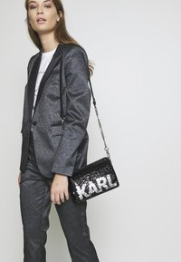 KARL LAGERFELD - SHOULDER BAG - Across body bag - black