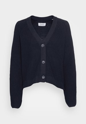 LONG SLEEVE CARDIGAN WITH BUTTONS - Gilet - deep dive