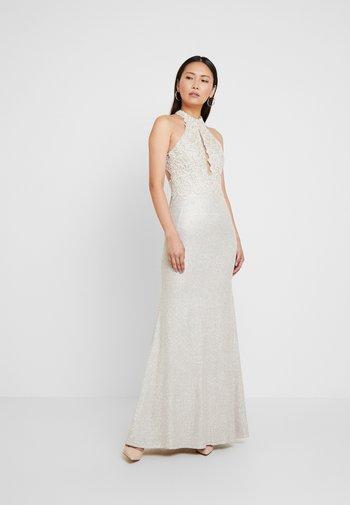 Suknia balowa - champagner