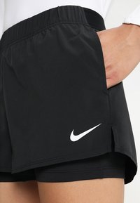 Nike Performance - FLEX - Sports shorts - black/white - 4