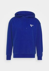 T3 RELAXD GRAPHIC HOODIE UNISEX - Mikina skapucí - surf blue
