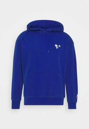 T3 RELAXD GRAPHIC HOODIE - Mikina s kapucí - surf blue