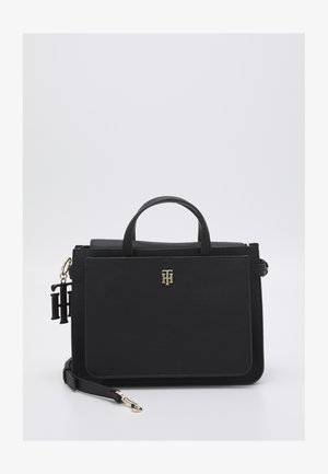 SOFT SATCHEL - Handbag - black