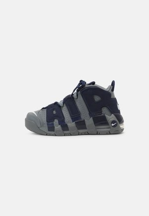 AIR MORE UPTEMPO UNISEX - Sneakers hoog - cool grey/white/midnight navy