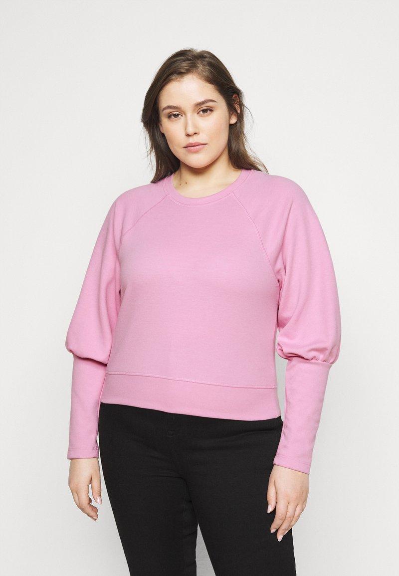 Pieces Curve - PCROSAN - Sweatshirt - pastel lavender