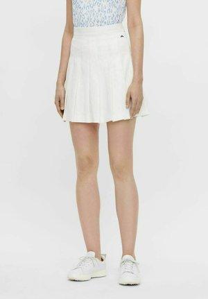 ADINA - Sports skirt - white
