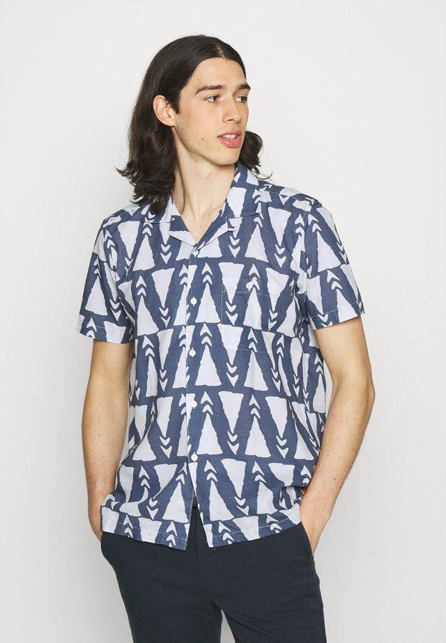 SELLECK ALOHA FLORAL  - Skjorta - blue