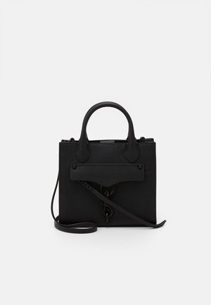 MEGAN MINI TOTE CROSSBODY - Handtas - black